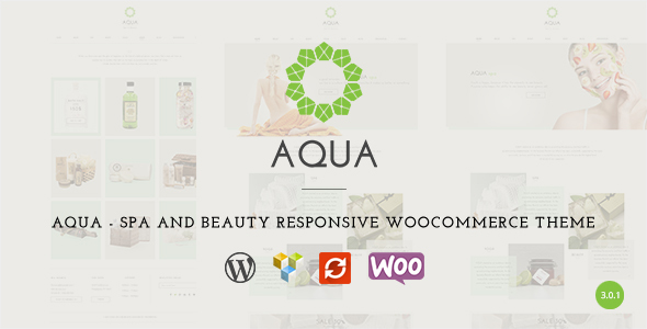 Aqua - Spa and Beauty Responsive WooCommerce WordPress Theme - Health & Beauty Retail