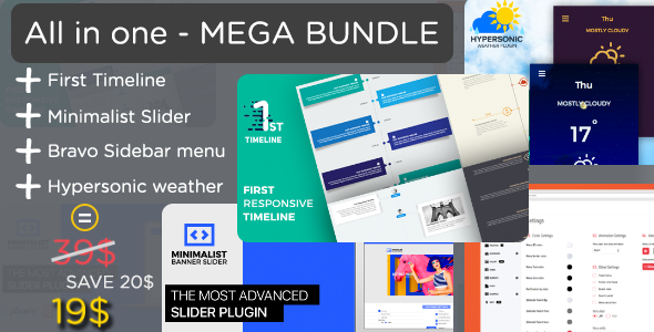 All in one - Mega Plugins Bundle - CodeCanyon Item for Sale