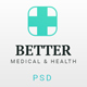 Better Medical - Medical Clinic & Healthy PSD Template - ThemeForest Item for Sale