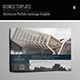 Architecture Portfolio Landscape Template - GraphicRiver Item for Sale