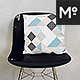 The Throw Pillow With Chairs Mock-up