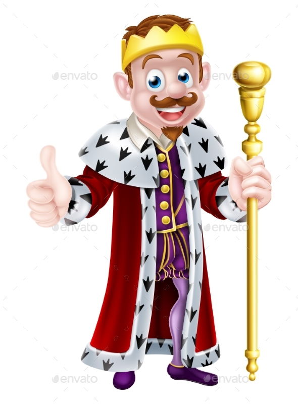Cartoon King - People Characters