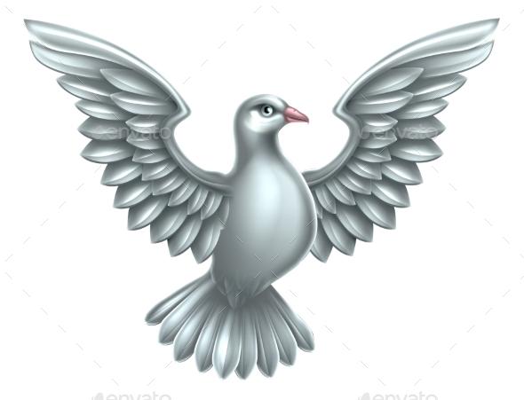 White Dove Concept - Religion Conceptual