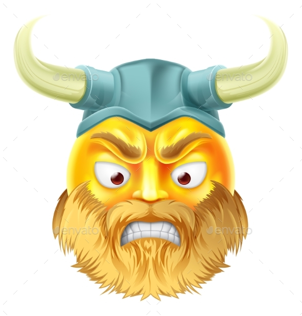 Viking Emoji Emoticon - Miscellaneous Characters