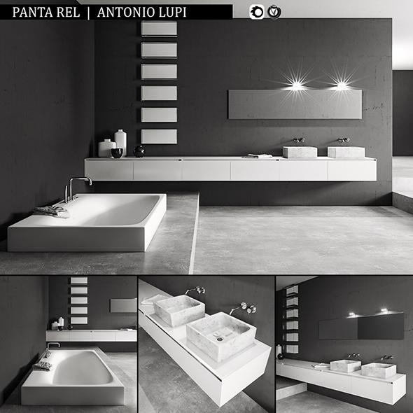 Bathroom furniture set Panta Rel - 3DOcean Item for Sale