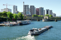 Skyscrapers and Seine