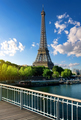 Beautiful parisian landscape