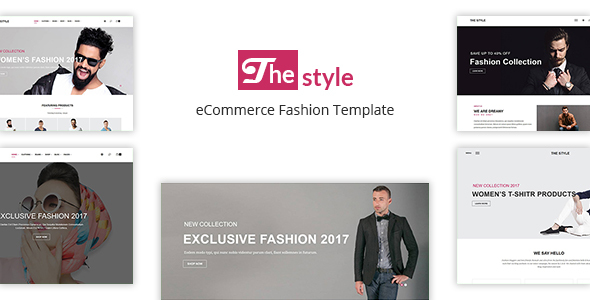 The Style – eCommerce Fashion Template