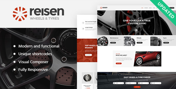 Reisen | Automechanic & Car Repair Theme - Business Corporate