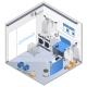 Laundry Interior Isometric Composition