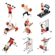 Gym Isometric Set