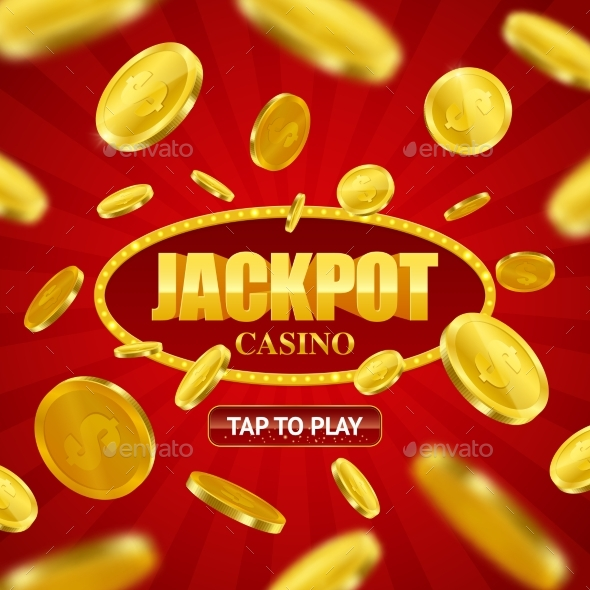 Jackpot Casino Online Background Design - Backgrounds Decorative