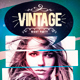 Vintage Night Flyer Template - GraphicRiver Item for Sale