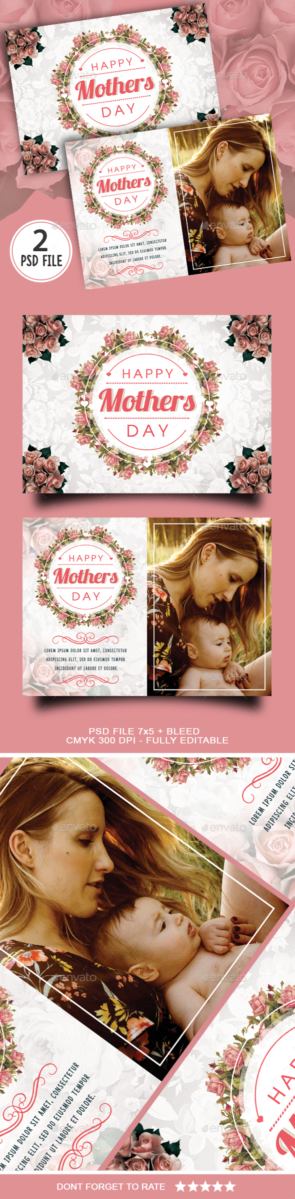 Mothers Day Card - Holiday Greeting Cards