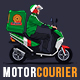 Motorized Courier - Delivery MockUp - GraphicRiver Item for Sale