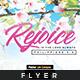 Rejoice - Church Flyer Template