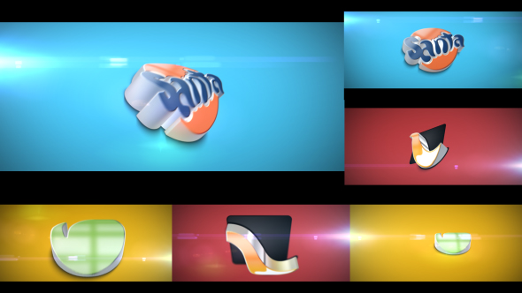 Advance 3D Extrudes IV ( Animated Curved Extrudes )