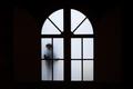 Silhouette near a window - PhotoDune Item for Sale
