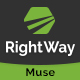 RightWay - Corporate Multipurpose Muse Template Nulled