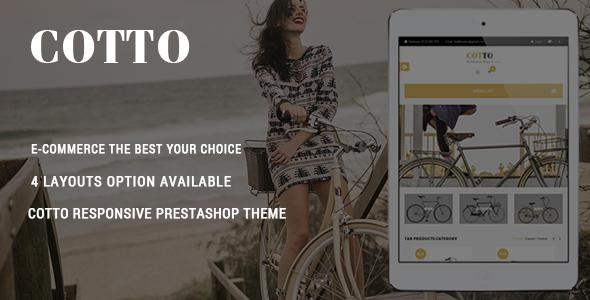 Cotto – Bike Store Responsive Prestashop Theme