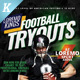 Football Tryouts Flyer Templates - GraphicRiver Item for Sale