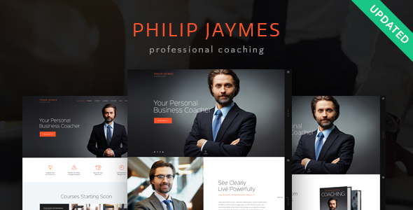 PJ | Life & Business Coaching WordPress Theme - Business Corporate