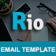 RIO - Multipurpose Responsive Email Template With Stamp Ready Builder Access