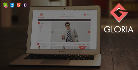 Gloria – Fashion Responsive Prestashop Theme
