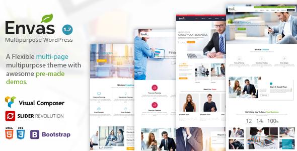 Envas - Multipurpose WordPress - Corporate WordPress