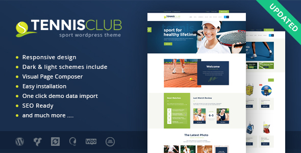 Image of Tennis Club | Sports & Events WordPress Theme