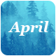 April - Responsive Email Template Minimal Nulled