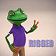 Toon Froggy Character (Rigged) - 3DOcean Item for Sale