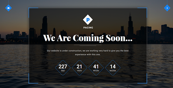 Pacing – Coming Soon Template