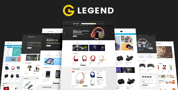 Image of Legend - Multipurpose Responsive Electronics Shopify Theme (Sections Ready)