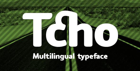 Tcho - Sans-Serif Fonts