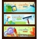 Cleaning Horizontal Banners Set - GraphicRiver Item for Sale