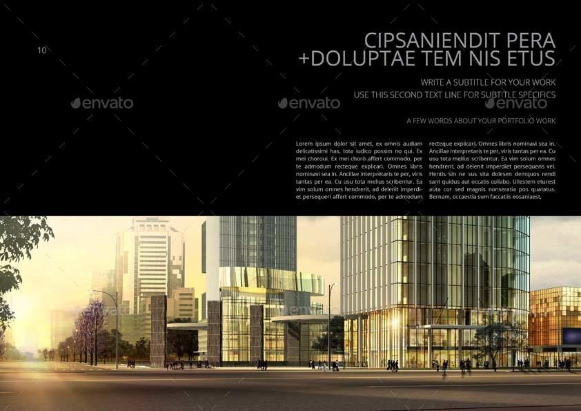 Architecture Portfolio Template by Keboto | GraphicRiver