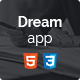 Dreamapp - HTML Template - ThemeForest Item for Sale