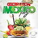 Flyer Celebration Mexico Party - GraphicRiver Item for Sale