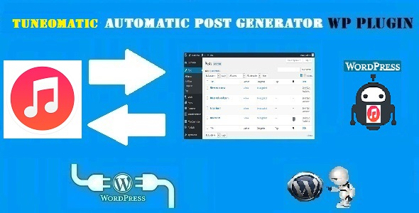 Tuneomatic - iTunes Affiliate Money Generator Plugin for WordPress - CodeCanyon Item for Sale