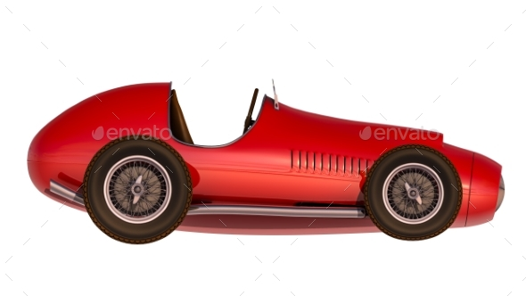 Racing Car 3D Render - Objects 3D Renders