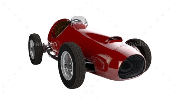 Racing Car 3D Render - Objects 3D Renders