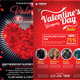 Valentines Party  2 in 1 Bundle Flyer