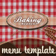 Bakery Flyer & Menu Template (Photos Included) - GraphicRiver Item for Sale