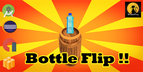 Bottle Flip | Multiple | Eclipse + Android studio | Admob | - CodeCanyon Item for Sale