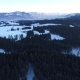 Flight Over Winter Landscpar - VideoHive Item for Sale