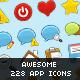 228 App Icons - Aeroplastic - GraphicRiver Item for Sale