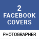 Photographer Facebook Cover – 2 Designs - GraphicRiver Item for Sale