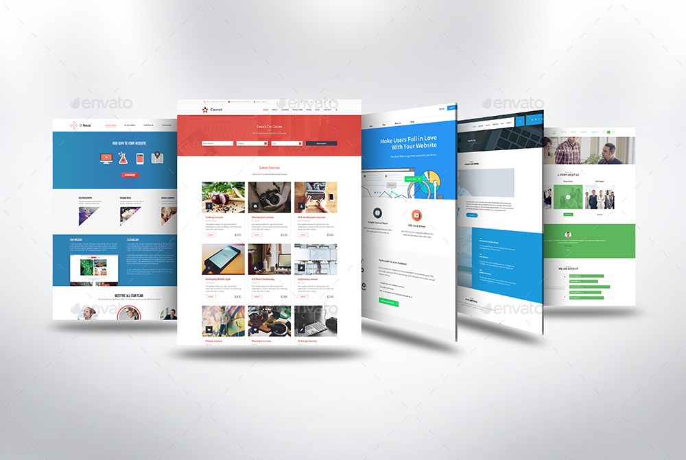 3d Web Page Presentation Mock Up V3 By Towhid123griver
