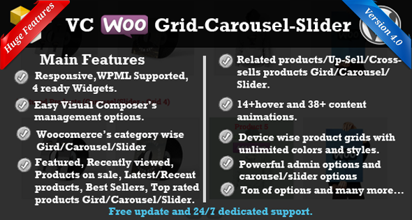 Visual Composer Woocommerce Grid/Carousel/Slider - CodeCanyon Item for Sale